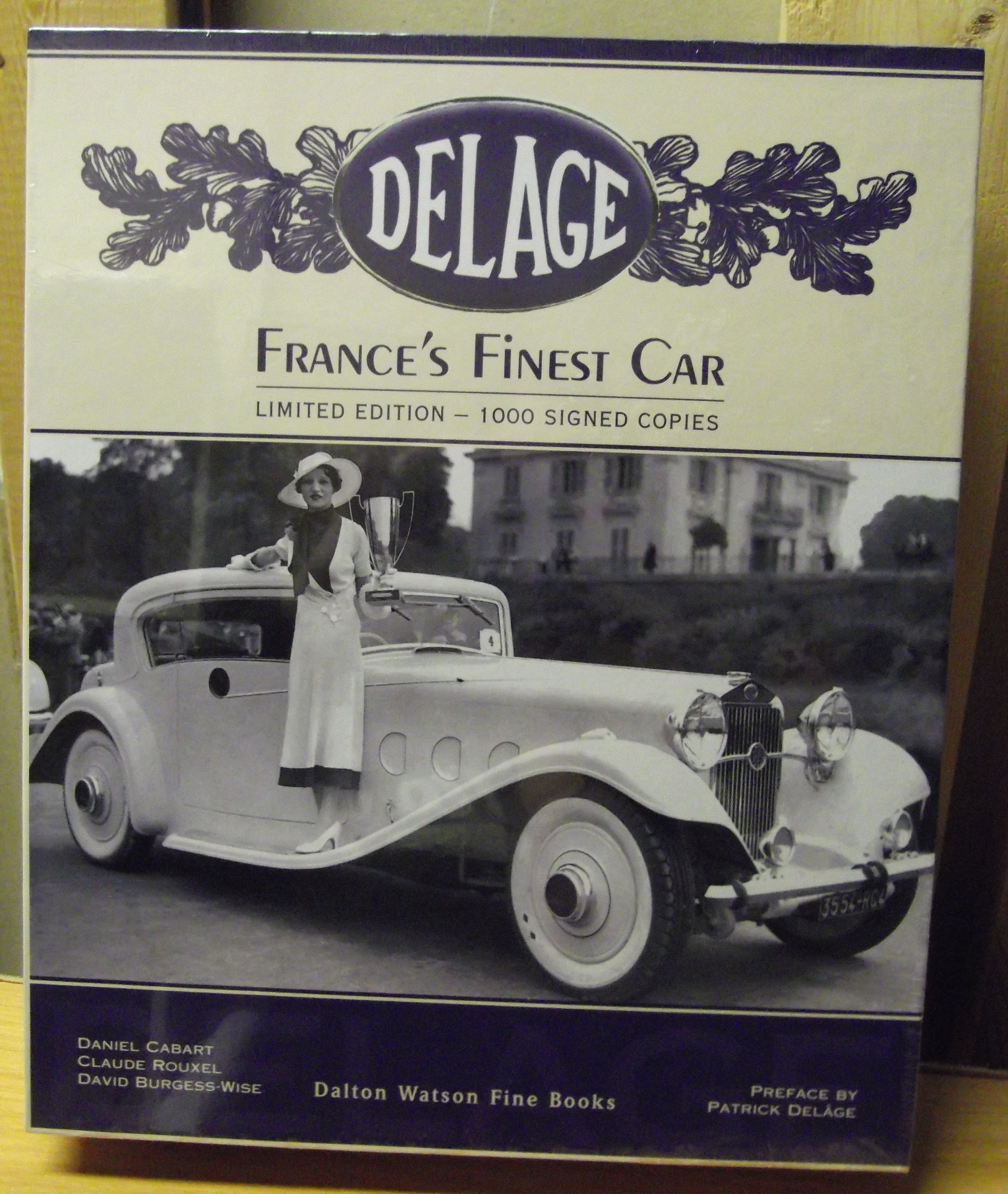 Image for Delage. France's Finest Car.